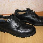 Clarks кожа туфли ботинки 44р по вст 29 см