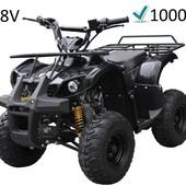 Детский электрический квадроцикл Profi HB-eatv 1000 D-2 черный