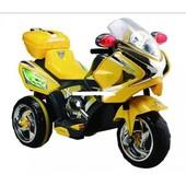 Детский мотоцикл M1601, жёлтый