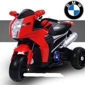 """Мотоцикл детский BMW """"eva kолесо"""" FT-6288 красный"""
