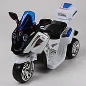 Детский мотоцикл-мопед FT 747 надувные колеса,белый