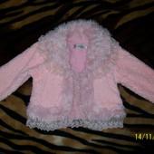 Куртка меховая 3-5лет