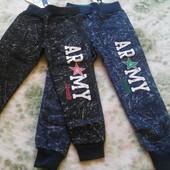Детские теплые спортивные штаны брюки для мальчика Grace, 128-146 р,