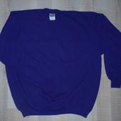 Теплая мужская кофта на байке Gildan, р. XL