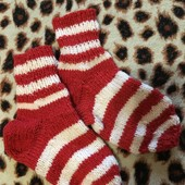 Носки новые вязаные дл 16,5