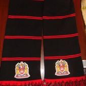 Фирменний оригинал футбольний шарф Ф.к Wigan. 1.80 см .