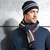 Вязаный мужской шарф от тсм Tchibo размер универсальный