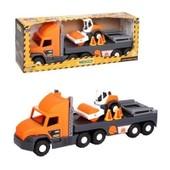 """Машина """"Super Truck"""", с котом, в кор.27*82*20 см, ТМ Wader арт. 36740"""