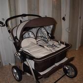 Детская коляска для двойни Geoby SC705-x