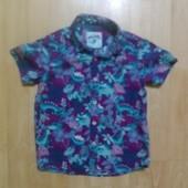 Фирменная рубашка 4-5 лет