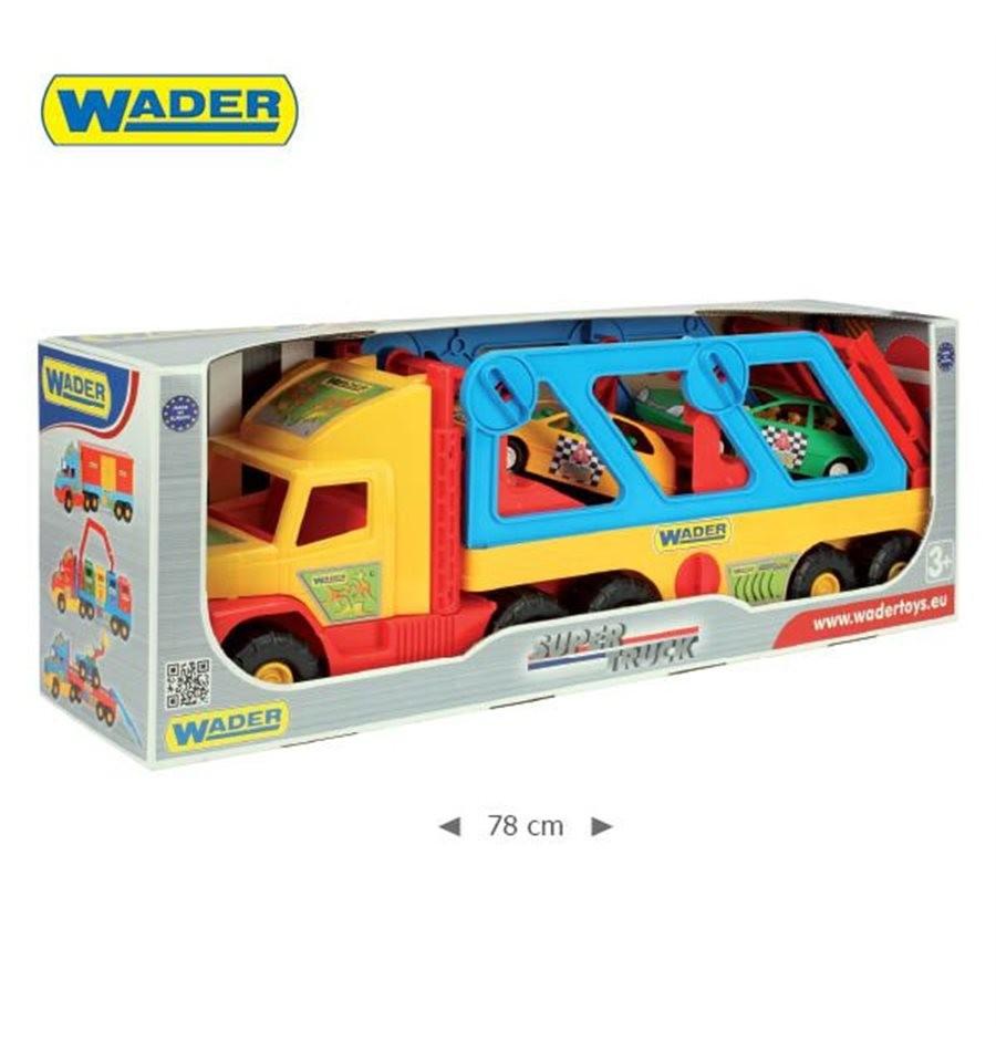 Эвакуатор wader super truck с авто-купе 36640 фото №1