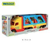 Эвакуатор Wader Super Truck с авто-купе 36640