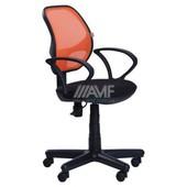 Кресло Чат АМФ-4 сиденье А-1/спинка сетка оранжевая