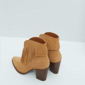 Кожаные ботинки Mango 39 размер