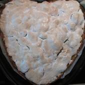 "Пирог-торт ""Яблоки под снегом"""