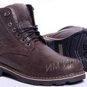 Ботинки кожаные Wrangler Aviator Brown