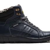 Зимние Ботинки Кожа (081с)