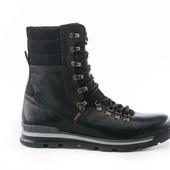 Ботинки Кожаные Зимние (091)