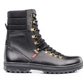 Ботинки Кожаные Мужские (093д)