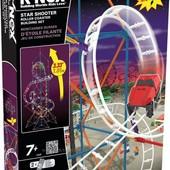 KNEX моторизированный конструктор звездный спуск star shooter coaster