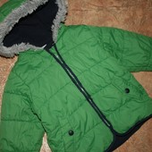 Демисезонная куртка Miniclub на 1-2 года по бирке 1-1,5 но большемерит