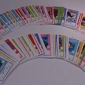 Карточки Disney из сильпо , для изучения английского.