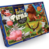 Игра настольная большая Ферма Люкс, Danko Toys