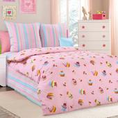 Постельное белье для девочки, Бязь - 20 мультяшных расцветок