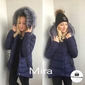 Красивая зимняя куртка с мехом р. м- л новая Распродажа!