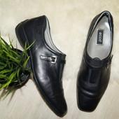 (40р.) Ecco! Натуральная кожа! Удобные туфли в классическом стиле