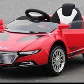 Детский электромобиль Audi, мягкие колёса, амортизаторы