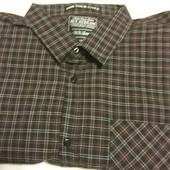 Качественная рубашка в клетку от ТСМ-такко(германия), размер ххл . 100% хлопок