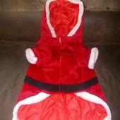 Маскарадный наряд Санта для домашнего питомца