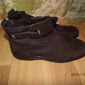 (№і175 )фирменные кожанные ботинки 41 р UK 9,5 W easyspirit