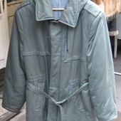 Куртка зимняя на ватине с капюшоном