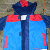 курточка дождевик на флисе