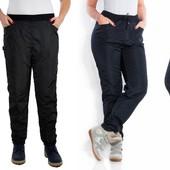 Теплые брюки на флисе 48-56р