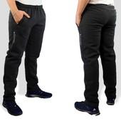 Теплые мужские брюки 48-58р