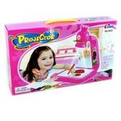 Детский проектор для рисования с доской Корона