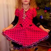 Нарядное платье Конфетка,Бусинка на 3-5лет!!!Новогодний костюм.