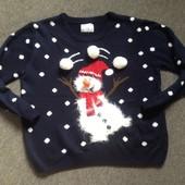 Новогодний свитерок. Смотрим замеры и фото в магазине.