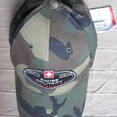 Новая Swiss Military кепка бейсболка