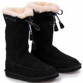 Угги Ugg Boots Suburb Crochet Black р.41 стелька 27см