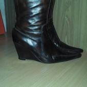 Сапоги - ботинки кожа деми Carlo Pazolini