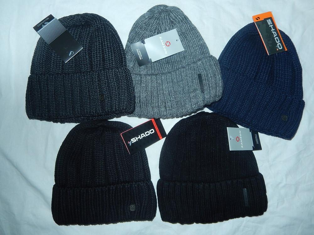 Зимние мужские шапки на флисе,р-р универсальный фото №1