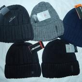 Зимние мужские шапки на флисе,р-р универсальный