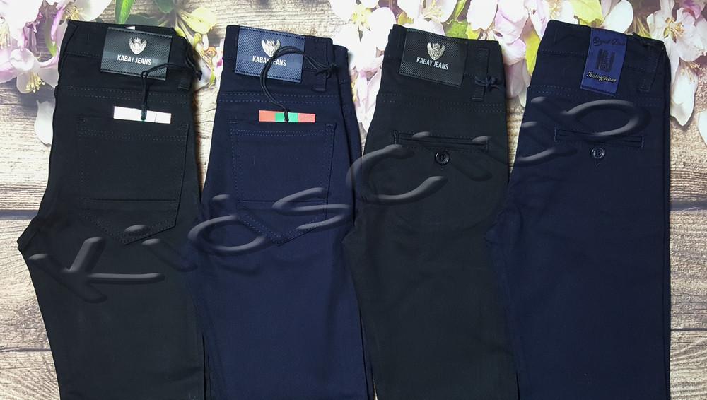 Хлопковые штаны на рост от 116 до 170 фото №1