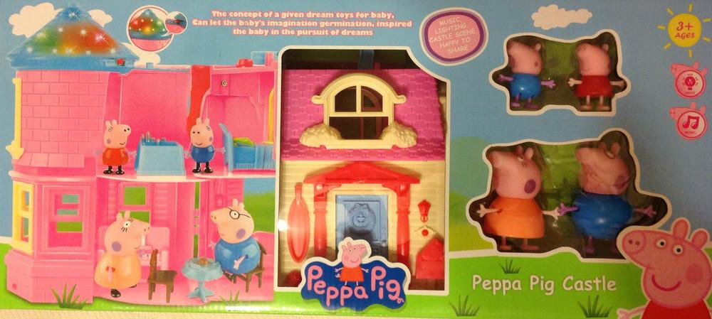Как собрать всю семью свинки Пеппы Игрушки-фигурки