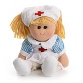 IF81 М'яка іграшка лялька медсестра 40 см