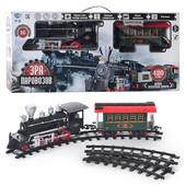 Детская железная дорога Эра паровозов 701829 r/yy 125 от Limo Toy